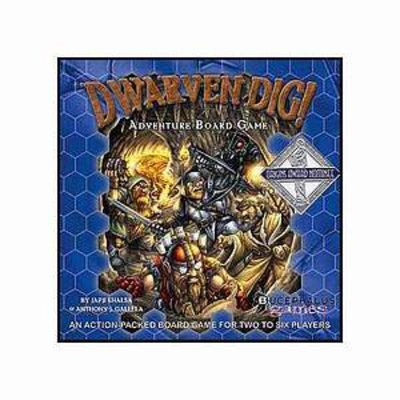Bucephalus Games Dwarven Dig Ages 8 and up, 1 ea