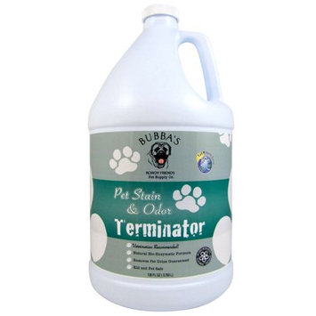 BUBBAS Super Strength Commercial Enzyme Cleaner-Pet Odor Terminator