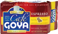 Café Goya® Rich, Dark and Smooth Espresso Ground Coffee