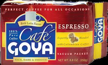 Café Goya® Rich, Dark and Smooth Espresso Ground Coffee