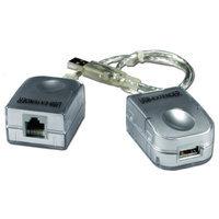 QVS USB-C5EXT USB Premium CAT5/6 Active Repeater for Up to 150ft
