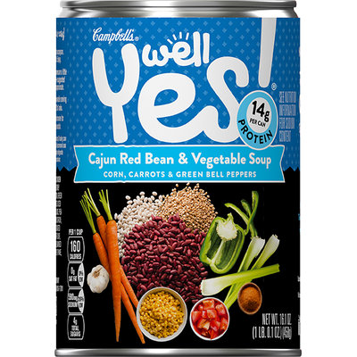 Campbell's® Well Yes! Cajun Red Bean and Vegetable Soup