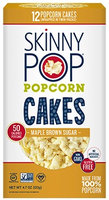 SkinnyPop® Maple Brown Sugar Popcorn Cakes