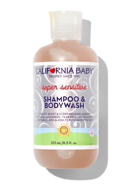 California Baby SUPER SENSITIVE™ SHAMPOO & BODYWASH