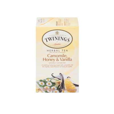 TWININGS® OF London Camomile, Honey & Vanilla Tea Bags