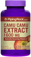 Piping Rock Camu Camu Extract 1600mg 120 Capsules
