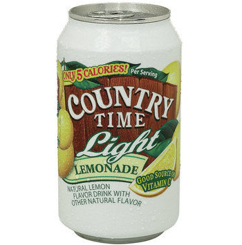 COUNTRY TIME Light LEMONADE in Can