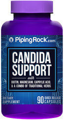 Piping Rock Candida Support Formula 90 Capsules