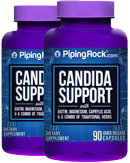 Piping Rock Candida Support Formula 2 Bottles x 90 Capsules