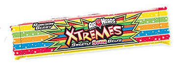AirHeads XTREMES Sweetly Sour Belts