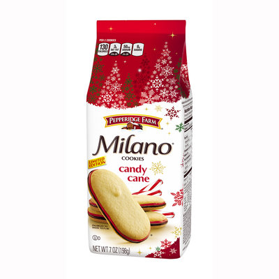Pepperidge Farm® Cookies Milano Candy Cane Limited Edition