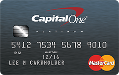 Capital One Secured MasterCard Credit Card