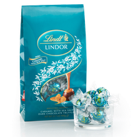Lindt Caramel With Sea Salt Dark Lindor Truffles