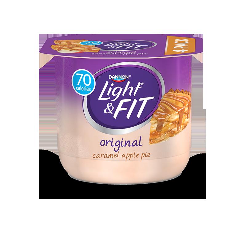 Light & Fit® Caramel Apple Pie Nonfat Yogurt