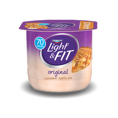Light & Fit® Caramel Apple Pie Nonfat Yogurt