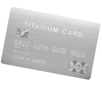 Luxury Card MasterCard Titanium Card