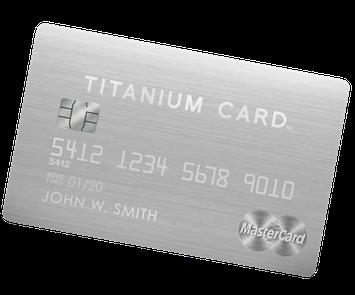 Luxury Card MasterCard Titanium Card