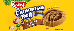 Keebler Cinnamon Roll Cookie Caramel Pecan