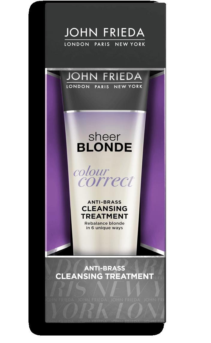 John Frieda® Sheer Blonde Color Correct Anti-Brass Cleansing Treatment