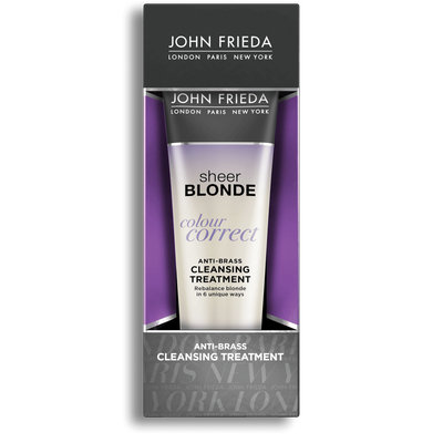 John Frieda® Sheer Blonde Color Correct Anti-Brass Cleansing Treatment