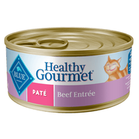 THE BLUE BUFFALO CO. BLUE™ Healthy Gourmet® Beef Entrée For Adult Cats