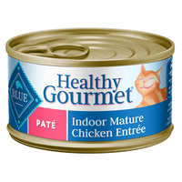 THE BLUE BUFFALO CO. BLUE™ Healthy Gourmet® Indoor Chicken Entrée For Mature Cats