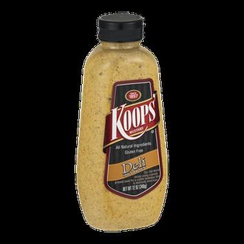 Koops' Mustard Deli Spicy Brown