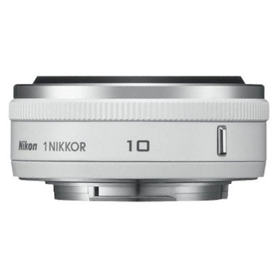 Nikon 1 Nikkor 10mm f/2.8 Fixed Lens - White