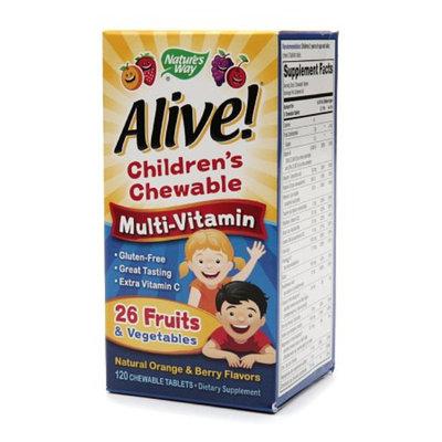 Nature's Way Alive! Children's Multivitamin Chewables