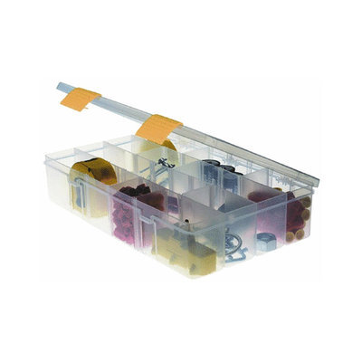 Creative Options 2-3730-05 3 Adjustable Compartment StowAway Organizer, Clear