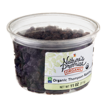 Nature's Promise Organic Raisins Thompson Organic