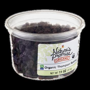 Nature's Promise Organic Raisins Thompson Organic