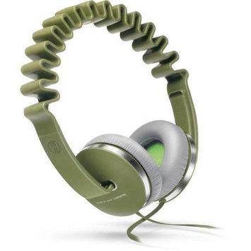 Innodesign Devices InnoDevice InnoWAVE Oliv, modisch innovative Kopfhörer, 10-23000 Hz