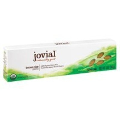Jovial 100% Organic Brown Rice Capellini 12 oz. (Pack of 12) ( Value Bulk Multi-pack)