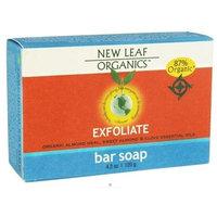 New Leaf Organics Bar Soap, Exfoliate, 4.2 oz