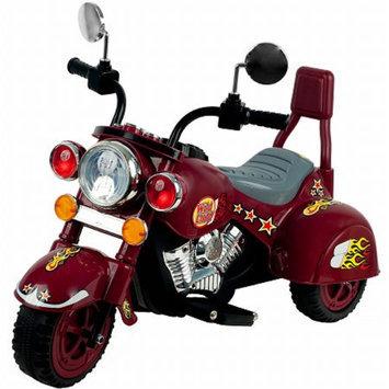 Lil' Rider Marauder Motorcycle Three Wheeler, Maroon, 1 ea