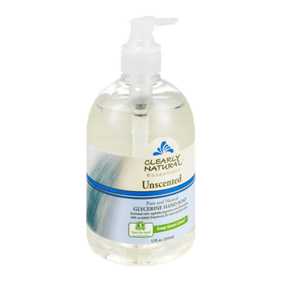 Clearly Natural Essentials Glycerine Hand Soap Unscented