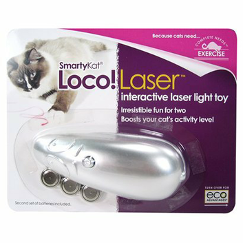 SmartyKat Loco! Laser Cat Toy