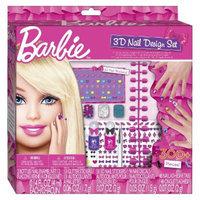 Barbie 3D Nail Art