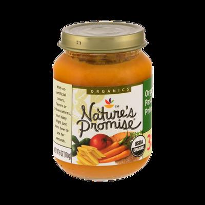 Nature's Promise Organics Organic Pasta Primavera 3rd Meals