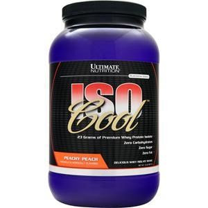 ULTIMATE NUTRITION(r) ISO Cool(tm) - Peach