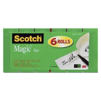 3M Company Scotch Magic Tape 6-pk. 3/4in x 1000in