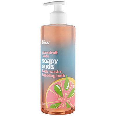 bliss Grapefruit & Aloe Soapy Suds Body Wash + Bubbling Bath
