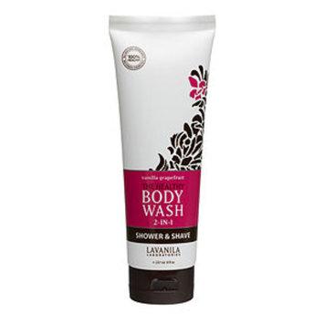 Lavanila Laboratories The Healthy Body Wash Shower & Shave