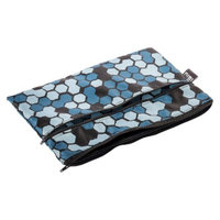 Nixi by Bumkins Recycled Fabric Poco Waterproof Diaper Clutch - Mica