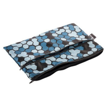 Nixi by Bumkins Recycled Fabric Poco Waterproof Diaper Clutch - Mica