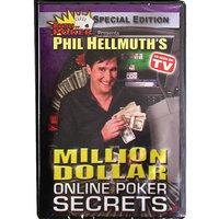 Trademark Commerce Trademark Global DVD - Phil Hellmuth's Million Dollar Online Poker Secrets