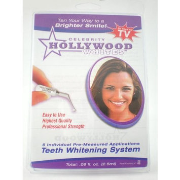 Celebrity Hollywood Whites Uv Teeth Whitening Kit