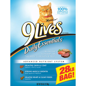 9 Lives 9Lives 28 lbs Daily Essentials Dry Cat Food