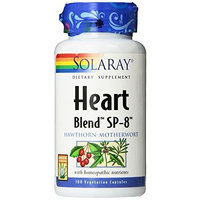 Solaray Heart Blend SP-8 Capsules, 100 Count